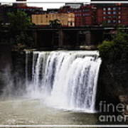 Rochester Ny High Falls Poster