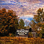 Rock City Barn Poster