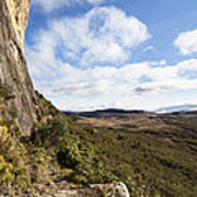 Rock Cliff Southern Madagascar Poster