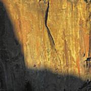 Rock Climbers On The Big Wall Poster