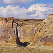 Rock Formations At Capital Reef Poster