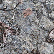 Rock Painting Poster