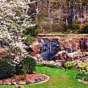 Rock Quarry Garden Poster