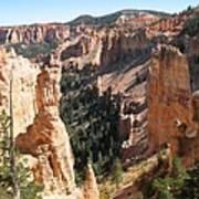 Rockformation At Bryce Canyon  Poster