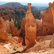 Rockformation  Bryce Canyon Poster