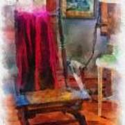Rocking Chair Photo Art Poster