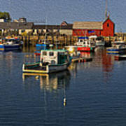 Rockport Harbor No.3 Poster