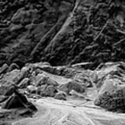 Rocks At Pt. Lobos Poster