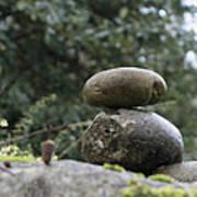 Rocks In The Garden Poster