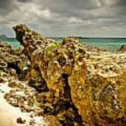 Rocks Of Elafonisi Island Poster