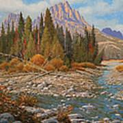 Rocky Creek 111105-1418 Poster