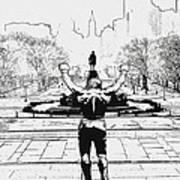Rocky Is Philadelphia Poster by Bill Cannon