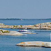 Rocky Islands On Georgian Bay Poster