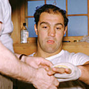 Rocky Marciano Getting Taped Up Poster