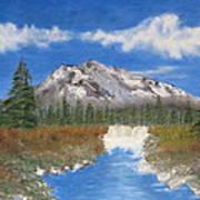 Rocky Mountain Creek Poster