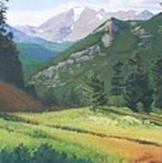 Rocky Mountain Grandeur Poster