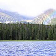 Rocky Mountain Rainbow Poster