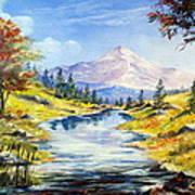 Rocky Mountain Stream Poster