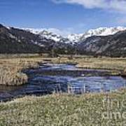 Rocky Mountain Stream Wide Angle Poster