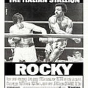 Rocky, Us Poster, Sylvester Stallone Poster