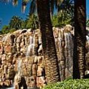 Rocky Waterfall 2 Poster