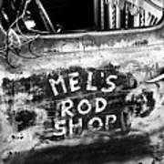 Rod Shop Truck Poster