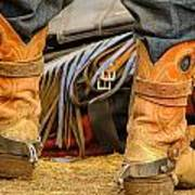 Rodeo Cowboy Tools Of The Trade Poster