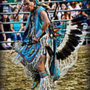 Rodeo Indian Dance Poster