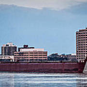 Roger Blough With Sarnia Skyline Poster