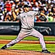 Roger Clemens Painting Poster