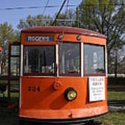 Rogers Trolley Poster