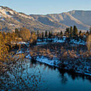 Rogue River Winter Poster