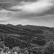Rolling Hills Of North Carolina Poster