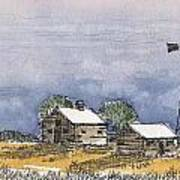 Rolling Plains Homestead Poster