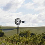 Rolling Plains Windmill Poster