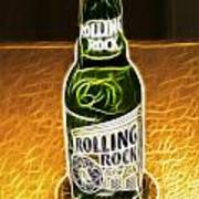 Rolling Rock Light Poster