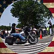 Rolling Thunder Salute Poster