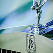 Rolls-royce Hood Ornament -782c Poster