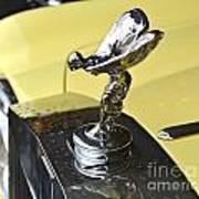 Rolls Royce Hood Ornament Poster
