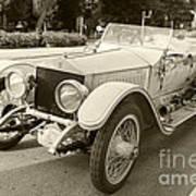 Rolls Royce Silver Ghost  Poster