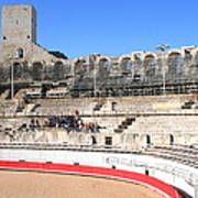 Roman Amphitheater In Arles Poster
