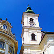 Roman Catholic Cathedral-sibiu Poster
