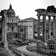 Roman Forum At Sunrise Poster