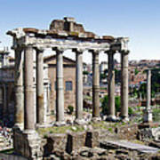 Roman Forum Poster