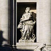 Roman Statue Poster