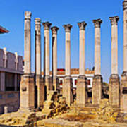 Roman Temple In Cordoba Poster