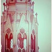 Romantic Cathedral Architectural Details Photograph Poster