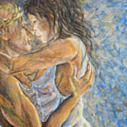 Romantic Cover Painting Poster