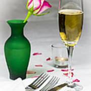 Romantic Setting Poster by Donald Davis