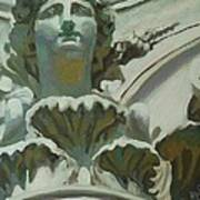 Rome Statue Poster